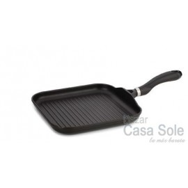 Grill Rayado Black Induction 28x28 cm.