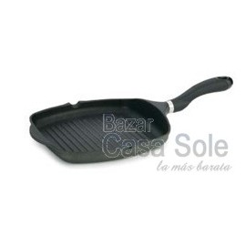 Grill Rayado Black Induction 26x26 cm.