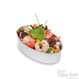 Lata Tapeo Oval 11x7 cms.