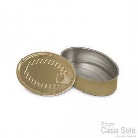 10 Latas Tapeo Oval 11x7 cms.