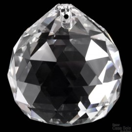 BOLA CRISTAL 30MM STRASS