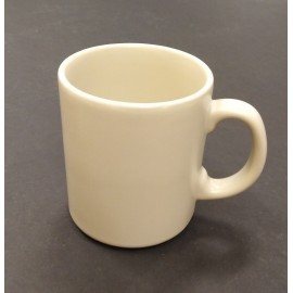 MUG EARTHENWARE NEGRO