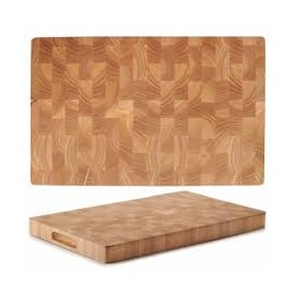 TABLA DE CORTE RUBBER WOOD 53X32,5X4CM