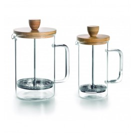 CAFETERA FRANCESA WOOD 0,35L LACOR